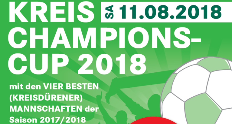 Kreis-Champions-Cup 2018 am Samstag, 11.08.2018