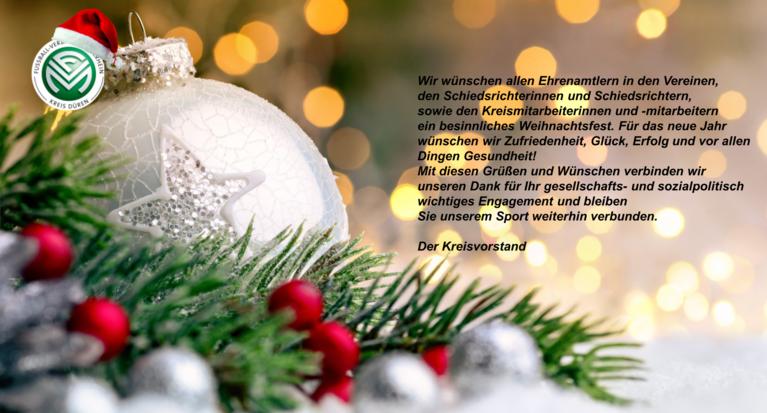 Frohe Weihnachten An Alle.Fussball Verband Mittelrhein Frohe Weihnachten Und Alles